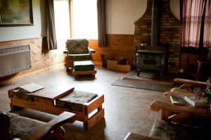 Living Room, Ben Rover Cabin