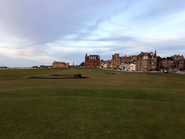 Coming home! The Old Course, St. Andrews