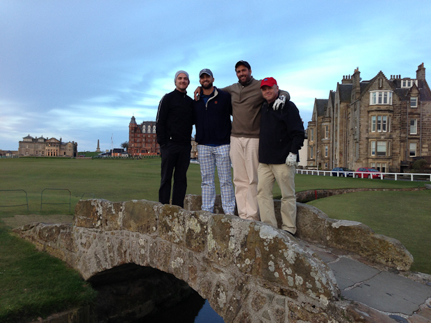 The iconic Bridge shot. St. Andrews