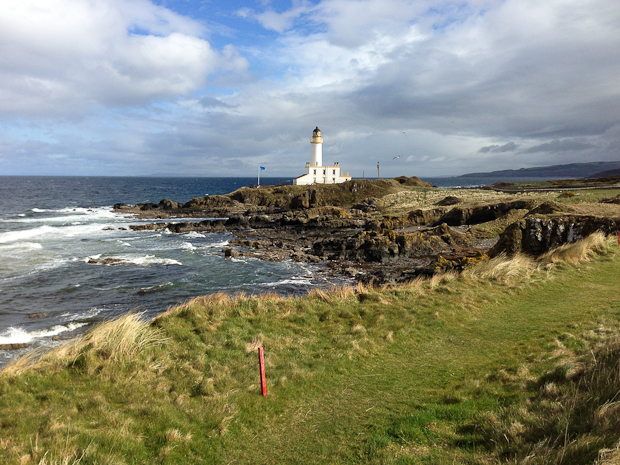 Turnberry. Final day of golf.