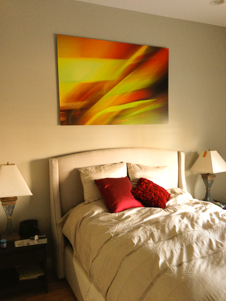"40""x60"" pigment print, mounted to Dibond"